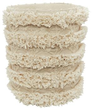 Marks and Spencer fringe braided storage bag