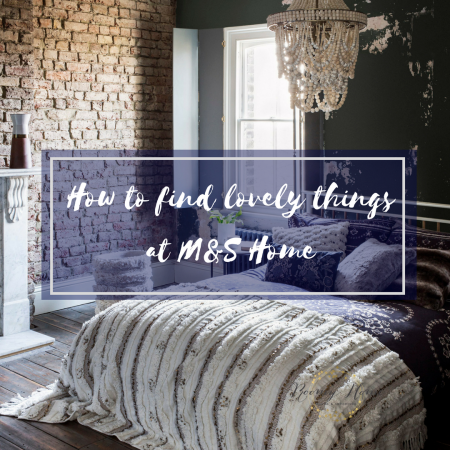 Marks and Spencer home section inspiration