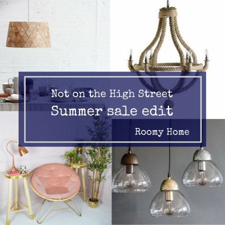not on the high street summer sale edit roomy home